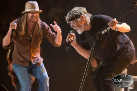 Photography: Kid Rock and Bob Seger at the Xcel Energy Center (St Paul, MN)